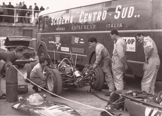 scuderia Centro Sud BRM P57 Lorenzo Bandini Monaco GP 1963