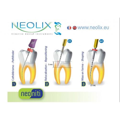Ace rotative Neolix Neoniti A1, 025 - set 5 buc