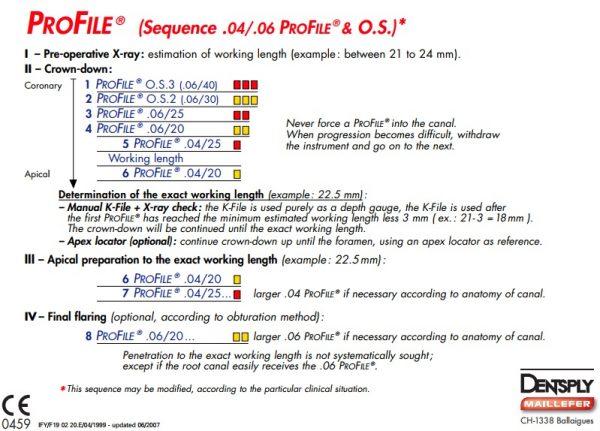 Ace endo ProFile GT Pro File rotative