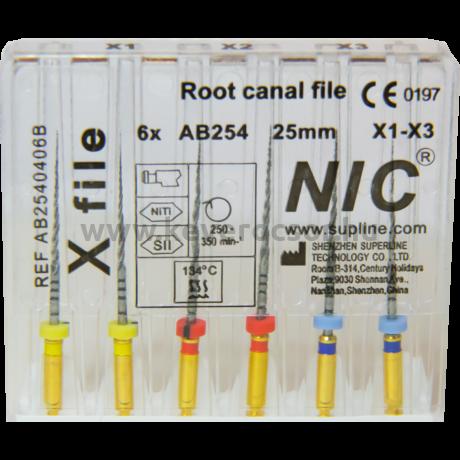 X - File ace endo tip PT Next