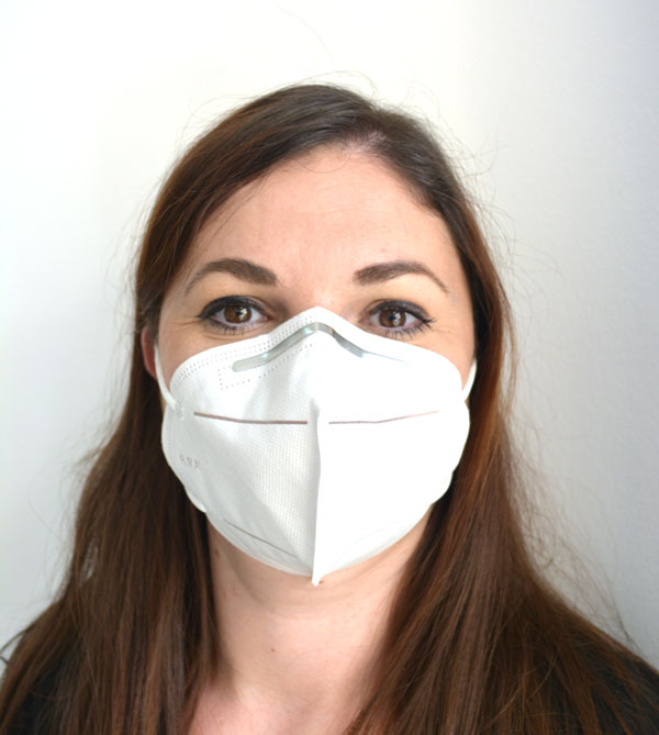 Masca faciala KN95 (FFP2) cu certificat ambalaj individual
