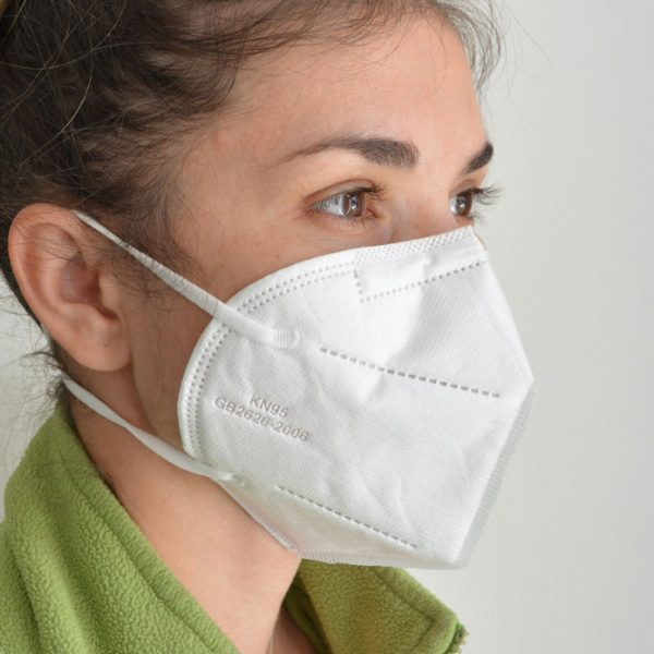 Masca respiratie KN95 FFP2 set 10 buc masti faciale protectie filtrare