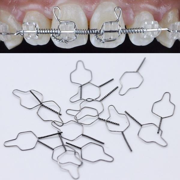 Ligaturi preformate din sarma ortodontie 100buc