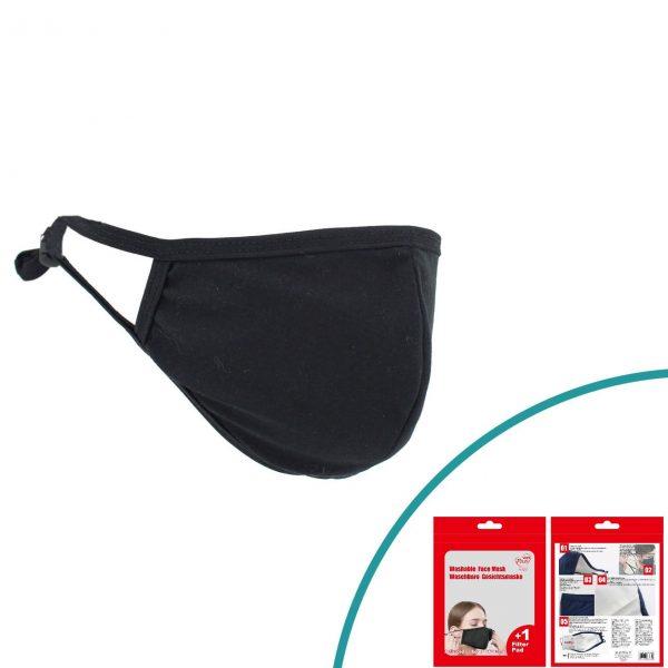 Masca textila cu filtru PM 2.5 cu carbon activ reutilizabila nemedicala