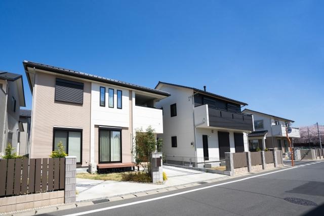 住宅街の戸建て