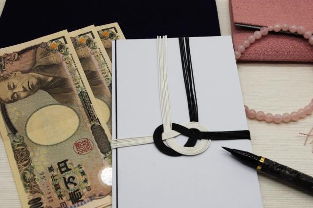 のし袋と1万円札