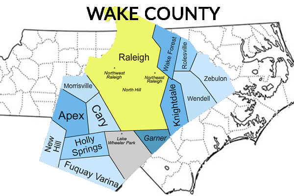 Wake County NC service area professional restoration services
