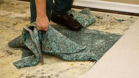 water damage restoration process