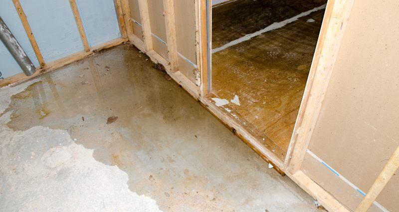 water damage faquay-varina