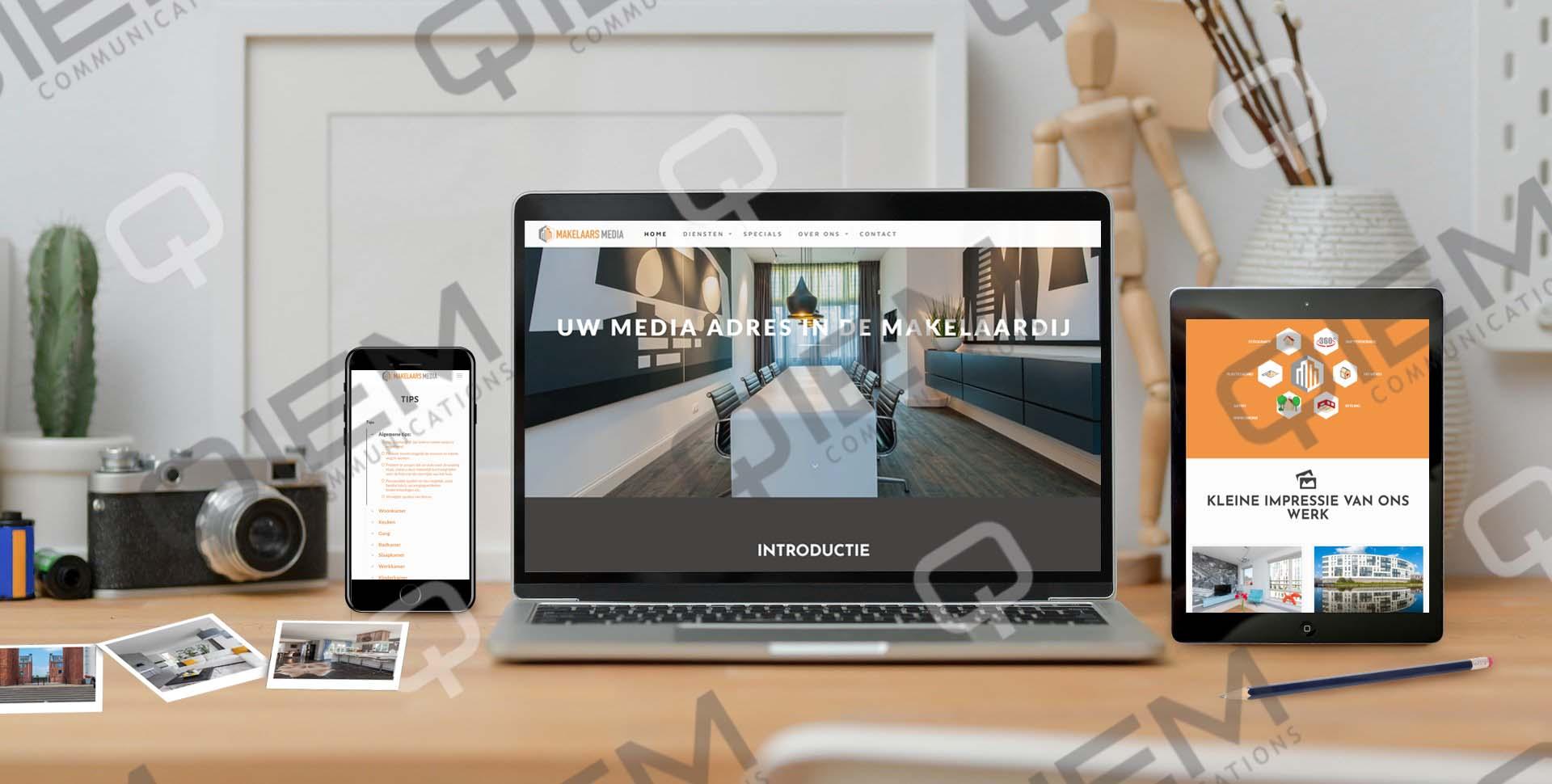 huurflex MOCK UP WEBSITE