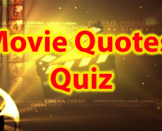 Movie Quotes Quiz - Famous movie quotes trivia 35