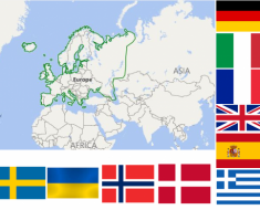 European Countries Quiz –  Can you identify them all ? 34