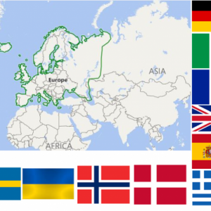 European Countries Quiz – Can you identify them all ? 49