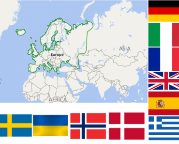 European Countries Quiz –  Can you identify them all ? 3