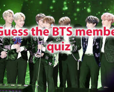 Guess the BTS member Start playing  quiz and find your perfect match! 7
