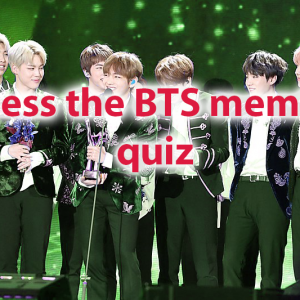 Guess the BTS member Start playing quiz and find your perfect match! 45