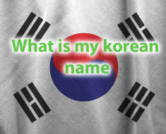 What is my Korean name quiz -Which Trendy Korean Name Fits You? 36