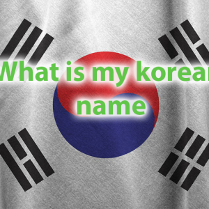What is my Korean name quiz -Which Trendy Korean Name Fits You? 25