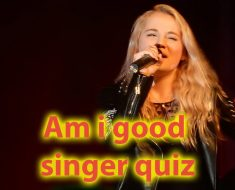Am i good singer quiz - Find out if you are talented for singing 6