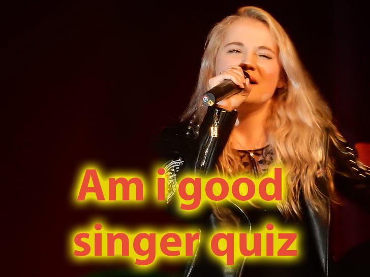 Am i good singer quiz - Find out if you are talented for singing 1