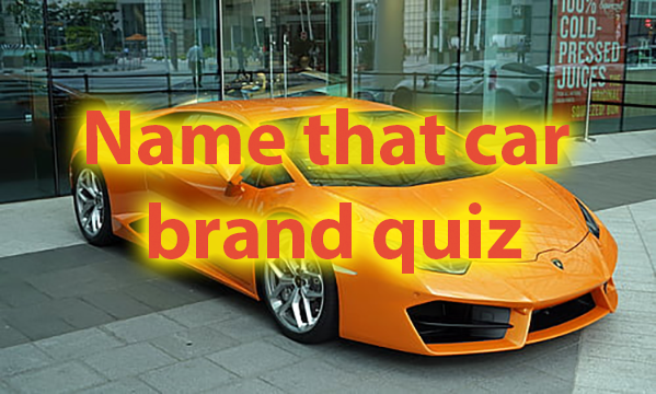 Name the car brand - Name the car brand quiz 16
