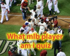 What mlb player am i quiz - Lets see what player you are 5