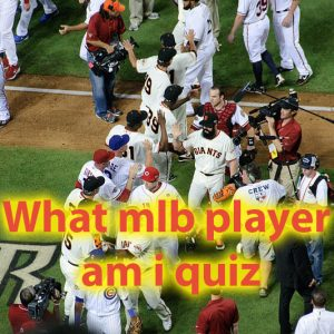 What mlb player am i quiz - Lets see what player you are 46