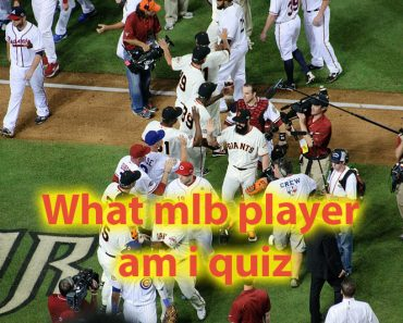 What mlb player am i quiz - Lets see what player you are 2
