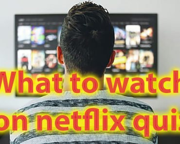 What to watch on Netflix quiz - 40s to make your decision easier 16