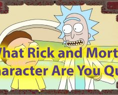 Which Rick and Morty character are you Quiz - Personality science 32