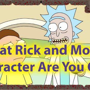 Which Rick and Morty character are you Quiz - Personality science 46