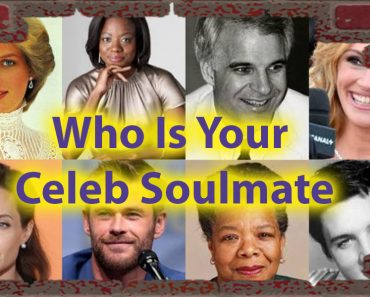 Who Is Your Celeb Soulmate - A quiz for Gentle Souls 2