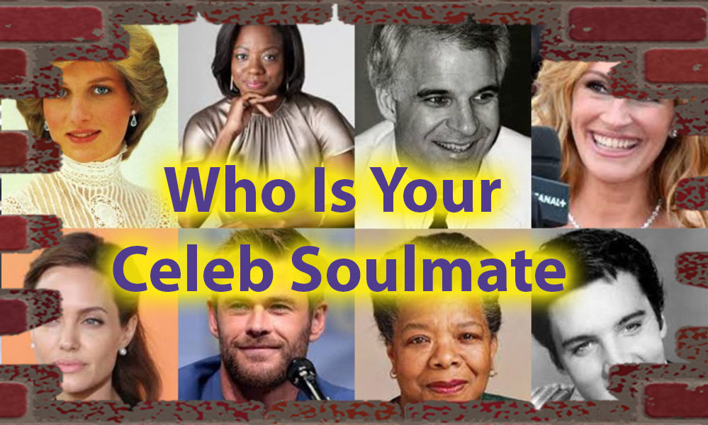 Who Is Your Celeb Soulmate - A quiz for Gentle Souls 1