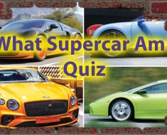 What Supercar am i quiz - Car Lovers Persona Quiz 35