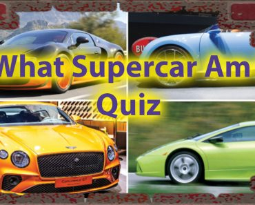 What Supercar am i quiz - Car Lovers Persona Quiz 7