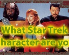 What Star Trek Character Are You Quiz of Personality 34