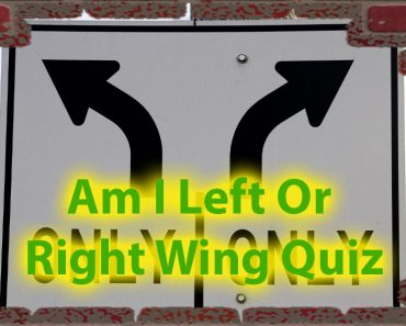 Am i left or right wing Quiz For Politically Active People 1