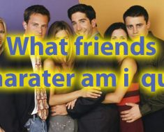 Which friends character am i quiz for personality 34
