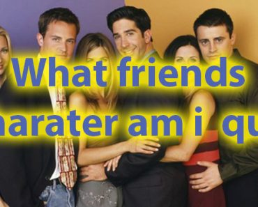 Which friends character am i quiz for personality 15
