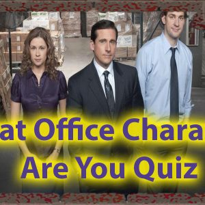 Which character from the office are you quiz. Office Personality Check 55