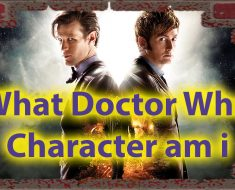 What Doctor Who Character Am I Quiz for Timelords 37