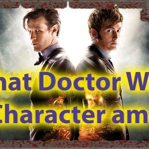 What Doctor Who Character Am I Quiz for Timelords 57