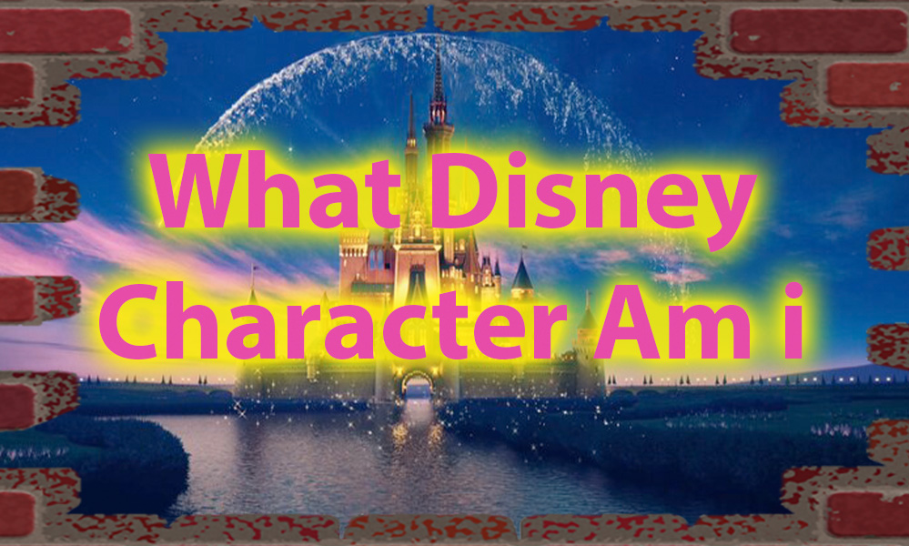 What Disney character am i quiz of Character 1