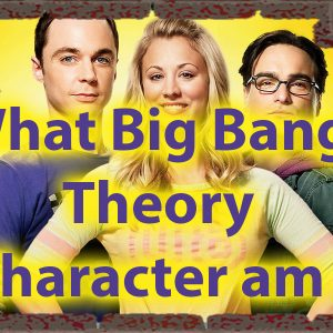 What Big Bang Theory Character Am I Quiz - Science of personality 56