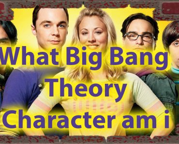 What Big Bang Theory Character Am I Quiz - Science of personality 10