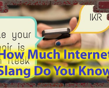 How Much Internet Slang Do You Know quiz For Urban Knowledge 1