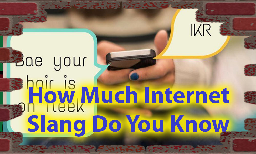 How Much Internet Slang Do You Know quiz For Urban Knowledge 23