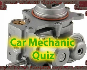 Car mechanic quiz. How well do you know your car? 12