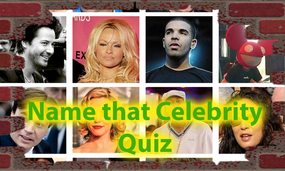 Name that celebrity game quiz - Are you Following them ? 1
