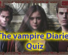 New quizzes the vampire diaries Only for true fans 33